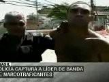 Capturan En Brasil A L&iacute Der De Narcotraficantes Atrincherados En Favela Do Alemao