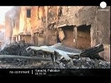 Cargo Plane Crash In Karachi - No Comment