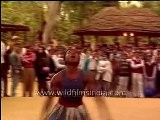 Cracking A Coconut On The Noggin! Tribal Dance Of The Siddhi Tribe In Gujarat