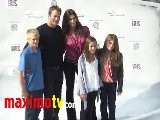 Cindy Crawford At IRIS World Premiere Arrivals - Cirque Du Soleil