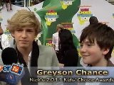 Cody Simpson & Greyson Chance Talk ' Waiting 4 U' Tour: 2011 KCA' S Interview