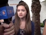 Ciara Bravo Talks &#039 Big Time Rush&#039 At Lollipop Theater Network Event