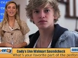 Cody Simpson' S Walmart Soundcheck Performance