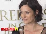 Carrie-Anne Moss At Fireflies In The Garden Premiere Arrivals