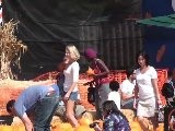 Celebrities At The Pumpkin Patch