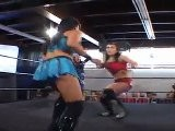 Cheerleader Melissa & Ayako Hamada Vs. Madison Eagles & Sara Del Rey Part 1