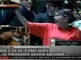 Dolor Y L&aacute Grimas En El &uacute Ltimo Adi&oacute S Del Pueblo Argentino A N&eacute Stor Kirchner