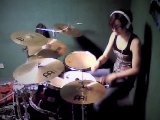 Drum Cover ADAM LAMBERT Whataya Want From Me - Cinbatteuse Cindy RAOUX