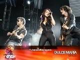 Dulce Mar&iacute A Canta Luna,Extranjera Y Inevitable En Concierto Exa FM 2010