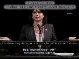 Deputada Cató Lica Myrian Rios RJ Discursa Contra A PEC 23