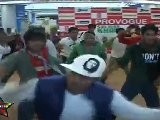 Dance Group Doing B-Boying At InOrbit Mall During Readys Promotion,Patnered With Provogue