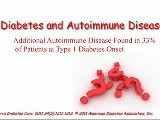 Diabetes Type 1 & Autoimune Disease