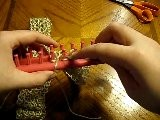 Double Knitting On A Long Loom - Casting Off