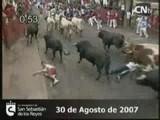 Encierro Sanse 30-8-07
