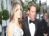 Elizabeth Hurley And Shane Warne Attend Elton&#039 S Tiara Ball