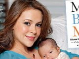 E! News Now Meet Alyssa Milano&#039 S Baby Boy