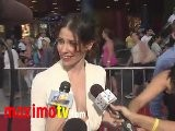 Evangeline Lilly On LOST The Movie - REAL STEEL Premiere