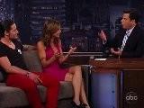 Elisabetta Canalis & Val Chmerkovskiy On Jimmy Kimmel