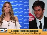 Enrique Iglesias & LA Reid Joining &#039 The X Factor&#039