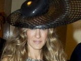 E! News Now Sarah Jessica Parker&#039 S Head Turning Hat