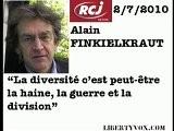 Finkielkraut RCJ : La Diversit&eacute , La Haine Et La Guerre