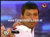 FarandulaTv.com.ar Coky Ramirez Le Canta A Marcelo Tinelli Una Canci&oacute N Romantica, En El Ritmo Cha Cha Cha. Bailando 2011