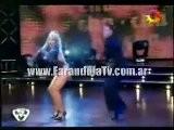 FarandulaTv.com.ar Maria Eugenia Rito Bailo El Ritmo Cha Cha Cha En Bailando 2011