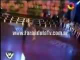 FarandulaTv.com.ar Bailo Larissa Riquelme El Ritmo Cha Cha Cha En Bailando 2011