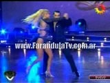 FarandulaTv.com.ar Baile De Andrea Guidone En El Duelo Del Ritmo Cha Cha Cha En Remplazo De Larissa Riquelme. Bailando 2011