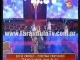 FarandulaTv.com.ar Canto Sofia Zamolo Juego De Noche, Nieve De Dia En Cantando 2011