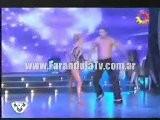 FarandulaTv.com.ar Baile De Maria Eugenia Rito En El Ritmo Del Adagio En Bailando 2011