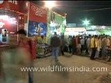 Fast Motion Of Sonepur Mela, Bihar