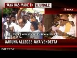 &#039 Is Tamil Nadu A State Or A Jungle?&#039 Asks Karunanidhi