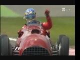 Fernando Alonso Au Volant De La Ferrari 375 De Jos&eacute Froilan Gonzalez