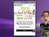 Free Xbox Live 6000 Microsoft Points 6000 MS Points Hacked - Tutorial