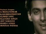 Salman Khan & Madhuri Dixit In Hum Aapke Hain Koun - Title Song