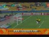 Gol De Carlos Lobat&oacute N - Per&uacute 1-0 Colombia - Copa Am&eacute Rica 2011