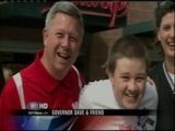 Governor Heineman Attends Autism Walk - Catherine Crane Reporting