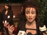 Helena Bonham Carter StarCam Interview At QVC Oscars Event