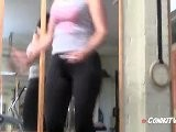 HOT FEMALE MUSCLE ConikiXXX Workout