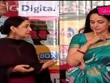 Hema Malini & Dipti Naval Have Chat At Rivaaz Music Launch