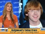 Hollywood&#039 S Tattoo Craze: Matching Tats For Harry Potter Cast?