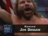Hacksaw Jim Duggan In Action + Macho Man Randy Savage Promo