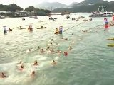 Hong Kong Harbour Mass Swim Race Returns After 33 Years
