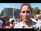 Istanbul, Ragazze In Pantaloncini In Piazza Per I Diritti Donne. Manifestazione Per Una Atleta In Short Malmenata Sull&#039 Autobus