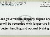 Infiniti Alignment Anaheim - Infiniti G20 Steering Repairs Anaheim