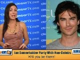 Ian Somerhalder Wants To Party With YOU!