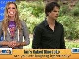 Ian Somerhalder&#039 S NUDE Practical Joke On Nina Dobrev