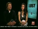 Josh Holloway & Evangeline Lilly - TVGuide Interview