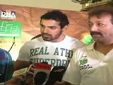 John Abraham WIth Cartoon Character Chhota Bheem & Ben Ten